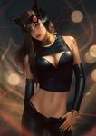High Fashion Catwoman Pepper by raikoart
