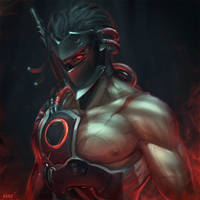 Blackwatch Genji by raikoart