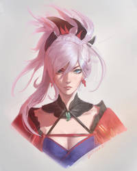 Musashi by raikoart