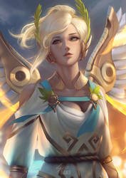 Winged Victory by raikoart