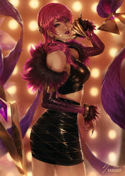 K/DA Evelynn by raikoart