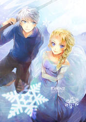 Jack Frost - Elsa by berinne