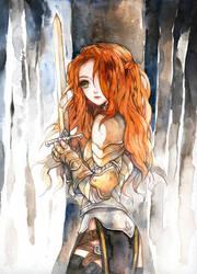 Warrior by berinne