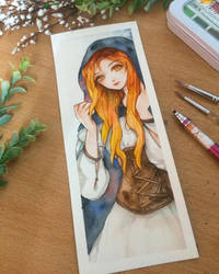 Red Head by berinne