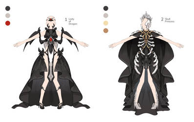 [Adopt Outfits] Fantasy Costume Set #2 CLOSE by berinne