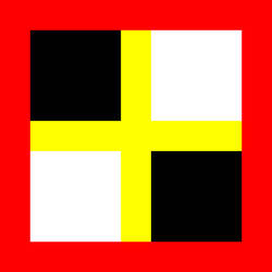 Russian Streletskiy flag - 07 by Unter-offizier