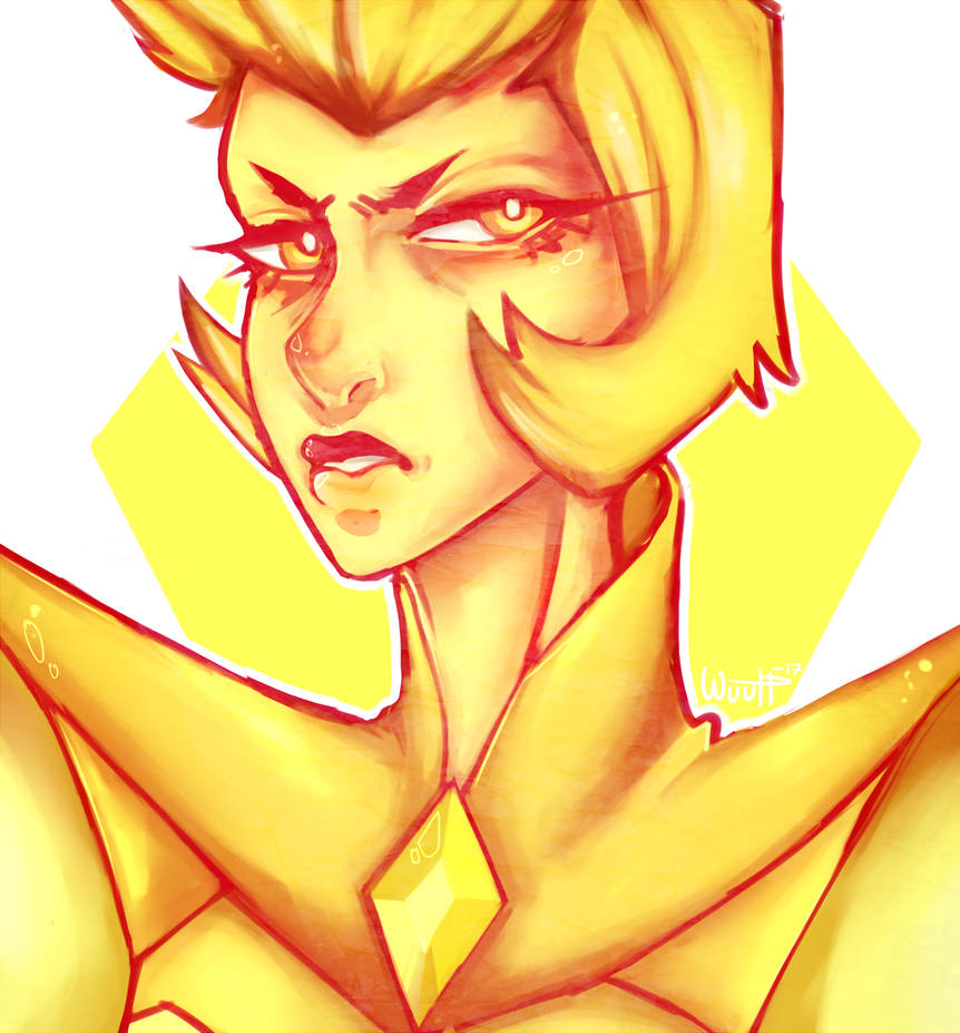 doodle Yellow Diamond © Steven Universe Art © wuutt Thank you for stopping by, have a nice day ! You're not allowed to use my art without my permission Like my art ? Why not cosidering wa...