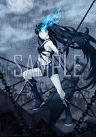 Black Rock Shooter - Unchained by piku-chan