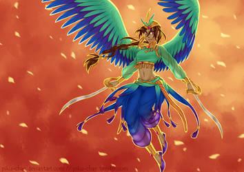 ROTG: A Queen by piku-chan