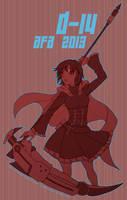 AFA D-14: Be Passionate by piku-chan