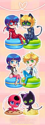Cuties Squared plus Two by piku-chan