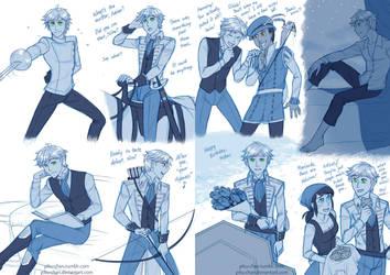 Adrien's Princely Life by piku-chan