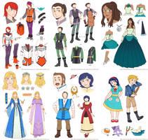 My Cinderella Story needs the Parents by piku-chan