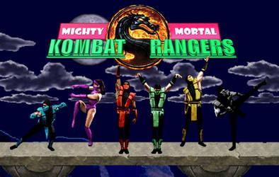 Mighty Mortal Kombat Rangers by MK1MonsterOck1989
