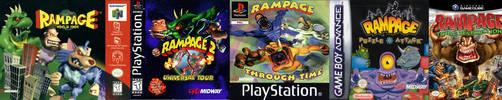 All Rampage Games + Movie RANKED! by MK1MonsterOck1989