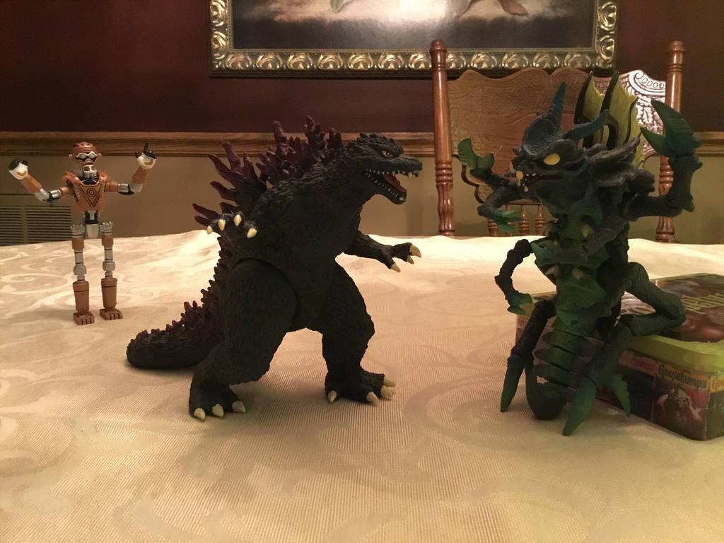 Godzilla vs The ExtraTERRORestrial Alien! by MK1MonsterOck1989