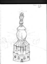 Tower of the Sacred Flash by destiny-saiyan014