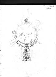 Tower of the Sacred Inferno by destiny-saiyan014