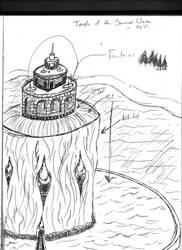 Tower of the Sacred Wave by destiny-saiyan014
