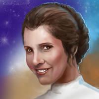 Princess Leia by gielczynski