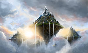 Sky Islands by gielczynski