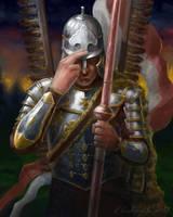 Winged Hussar by gielczynski
