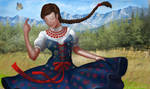 Mountain Girl by gielczynski