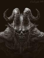 Demon by gielczynski
