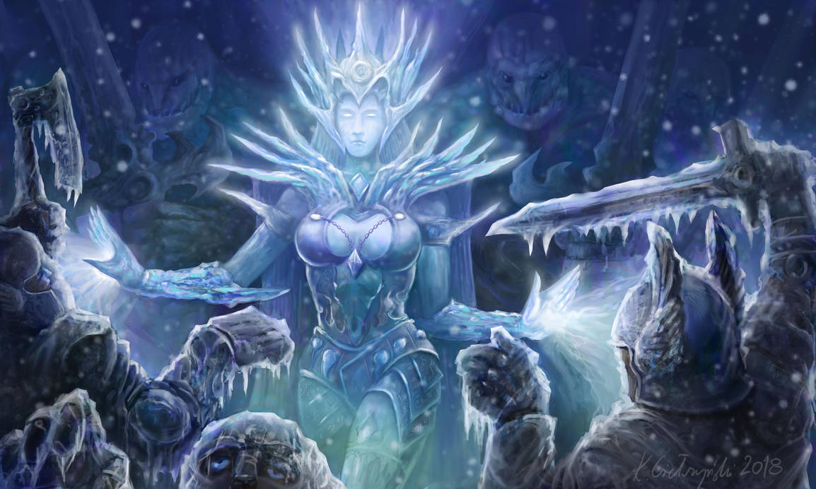 March of the Ice Queen by gielczynski