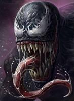 Venom's wrath by gielczynski