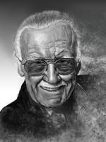 Stan Lee by gielczynski