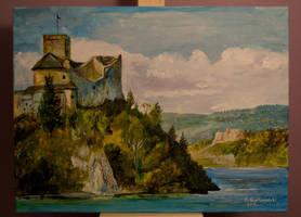 Dunajec Castle by gielczynski