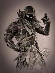 Raven by gielczynski