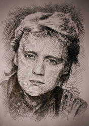 Roger Taylor drawing by gielczynski