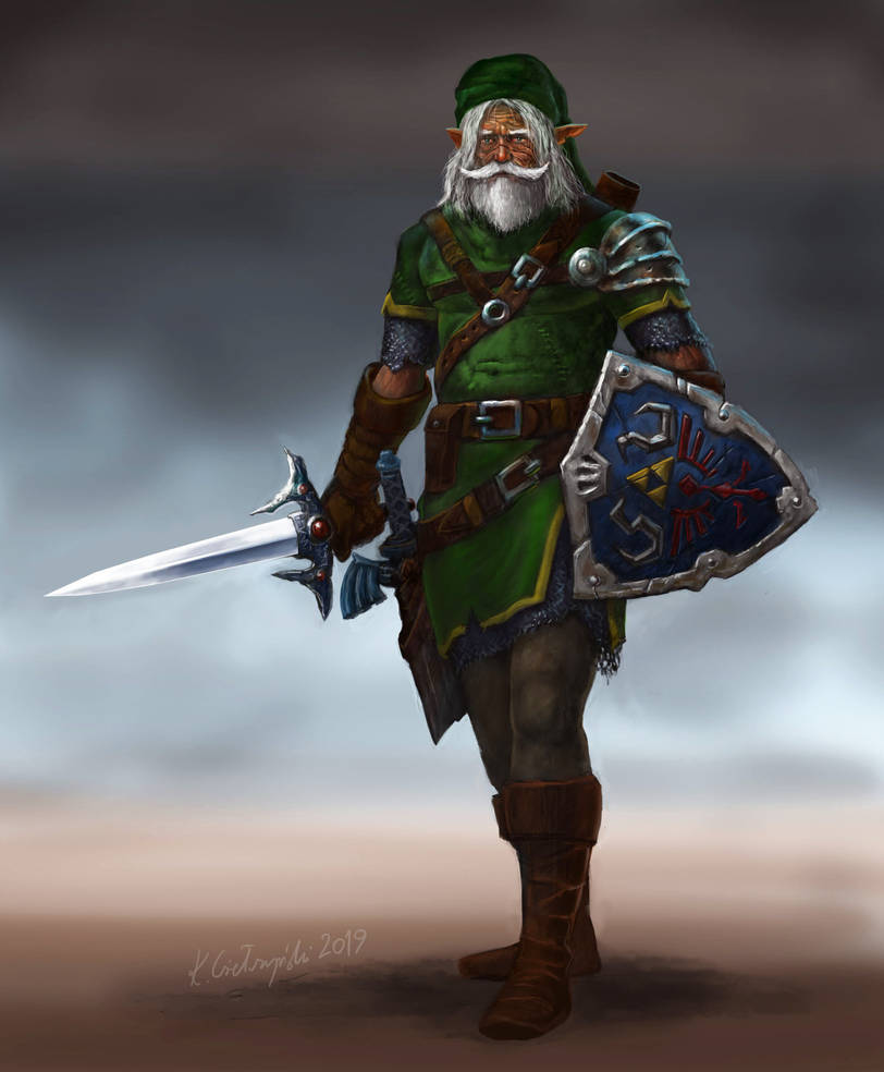 Old Man Link by gielczynski