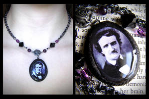 Edgar Allan Poe: Gothic Rose by dustfae