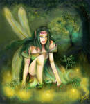 September's Fairy Ring-re-mastered-Tessie by tessieart333