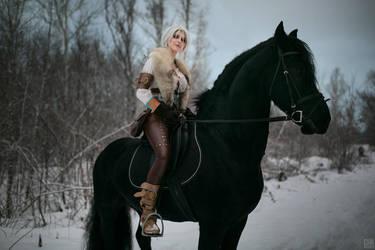 Winter trip by Tegorin