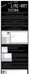 Paint Tool SAI: Line Tutorial by TheBetrayedPhoenix
