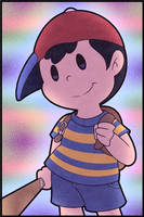 Ness (earthbound) by Kitshime-SP