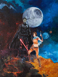 Star Wars birthday gift by moorkasaur