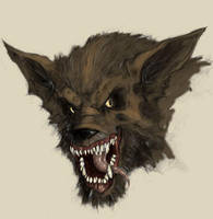 werewolf by moorkasaur