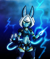 Fanart: Robo-Fortune - Thunder by ViroVeteruscy