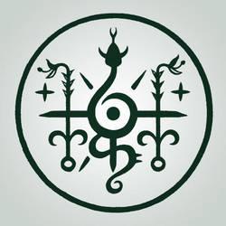 Solstice Serpent Sigil by BrokenShell121