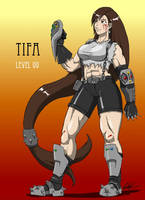 Tifa level 99 by blindeyeinsight