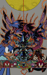 Sonic11.Cover flats with line by musikalora
