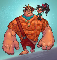Wreck it Ralph by Mike Bowden by musikalora