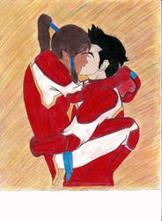 Victory Kiss!!! by CountrygalxHetalia