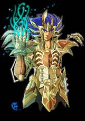 Cancer DeathMask Legend of Sanctuary by lithiumsaint