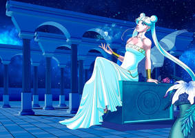 Queen Serenity by lithiumsaint